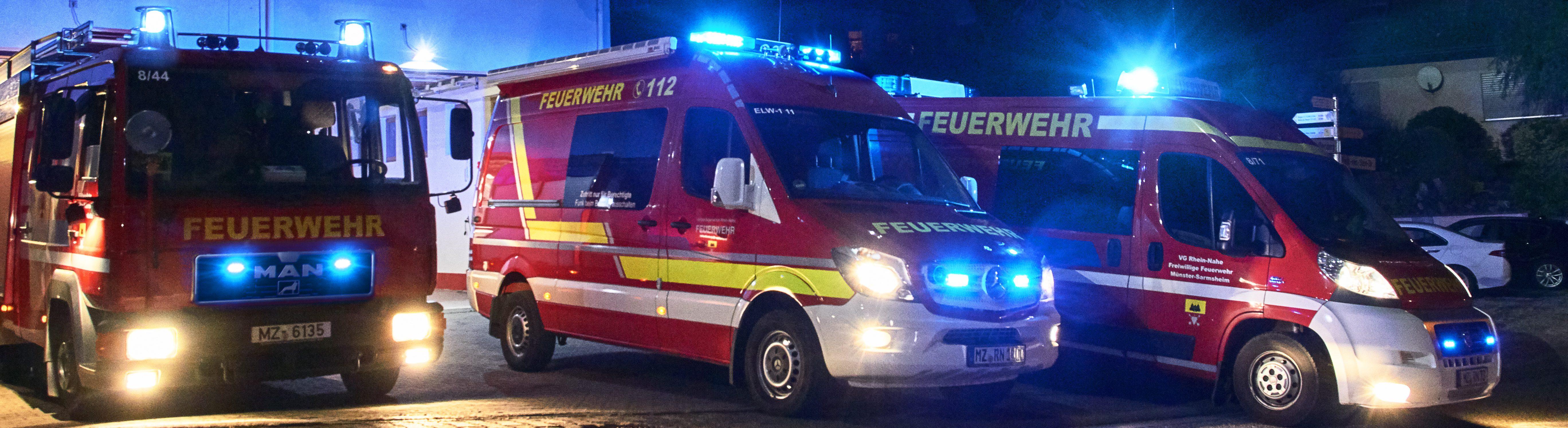 Freiwillige Feuerwehr Münster-Sarmsheim//VG Rhein-Nahe